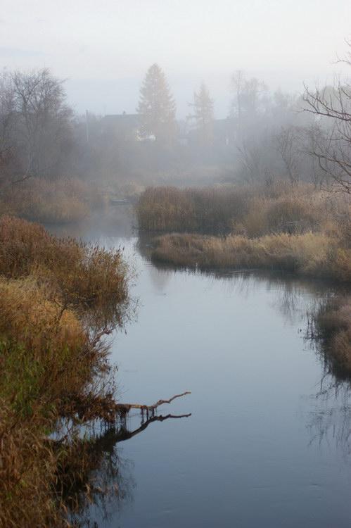 """фото """"Осеннее утро"""" метки: пейзаж, осень"""