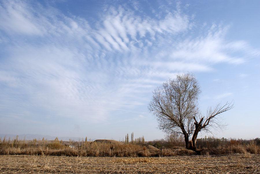 """фото """"Осенний пейзаж"""" метки: пейзаж, облака, осень"""