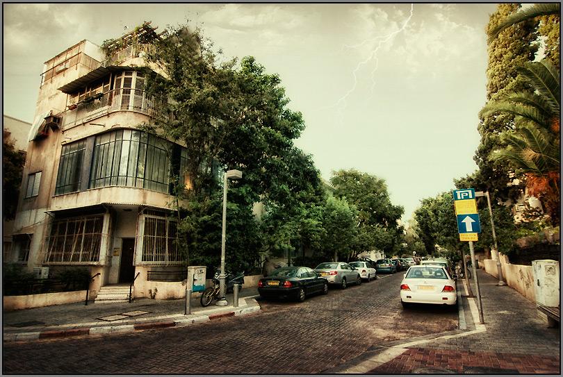 """photo """"Tel-AVIV 0534"""" tags: architecture, city, landscape,"""