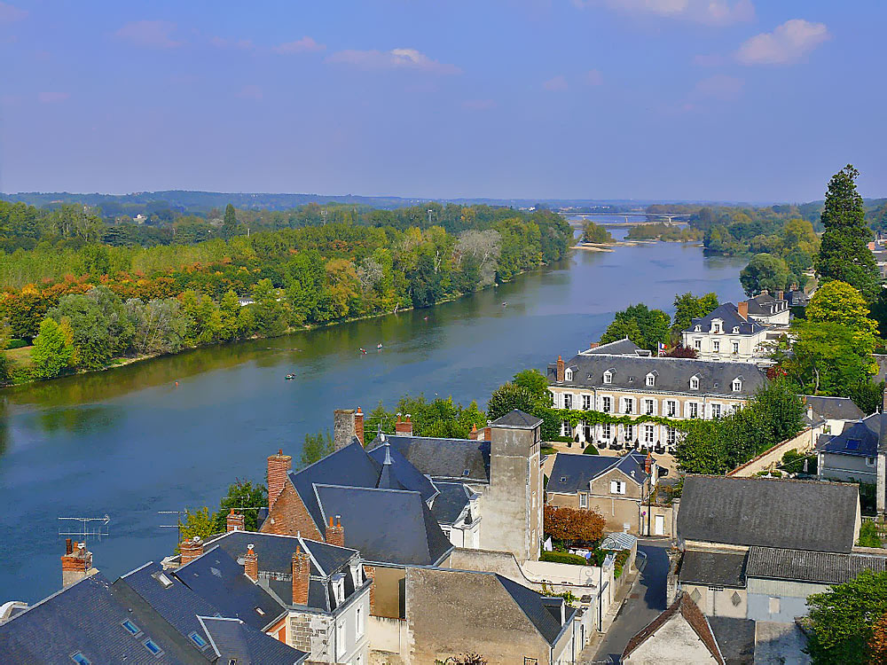 """photo """"Loire"""" tags: landscape, travel, Europe, water"""
