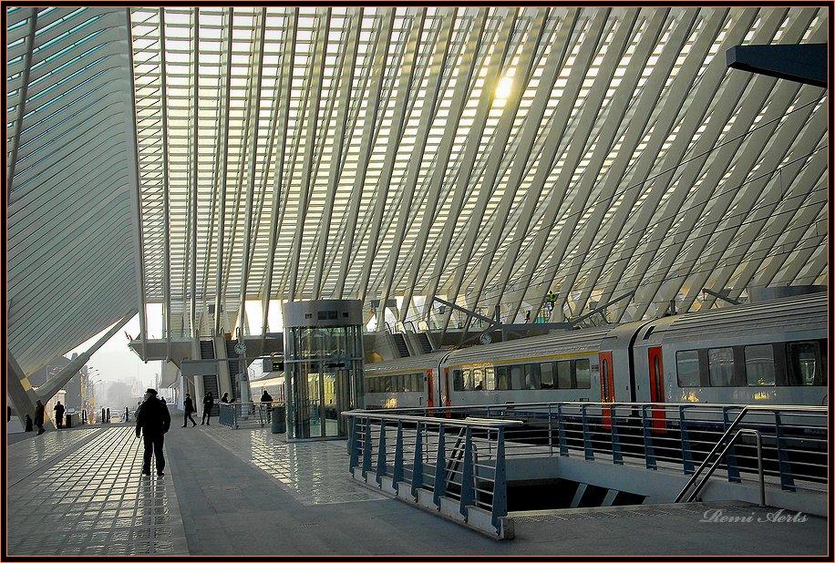 "фото ""modern station #2"" метки: архитектура, путешествия, пейзаж,"