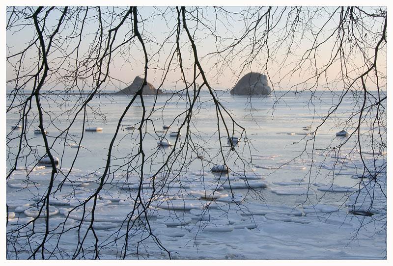 """фото """"Зимняя лирическая"""" метки: пейзаж, вода, зима"""