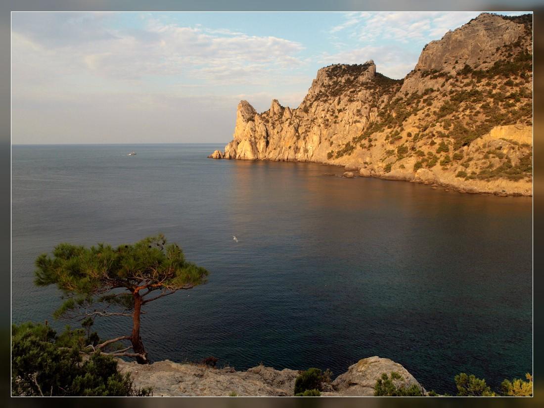 """фото """"Голубая бухта 2"""" метки: пейзаж, вода, горы"""