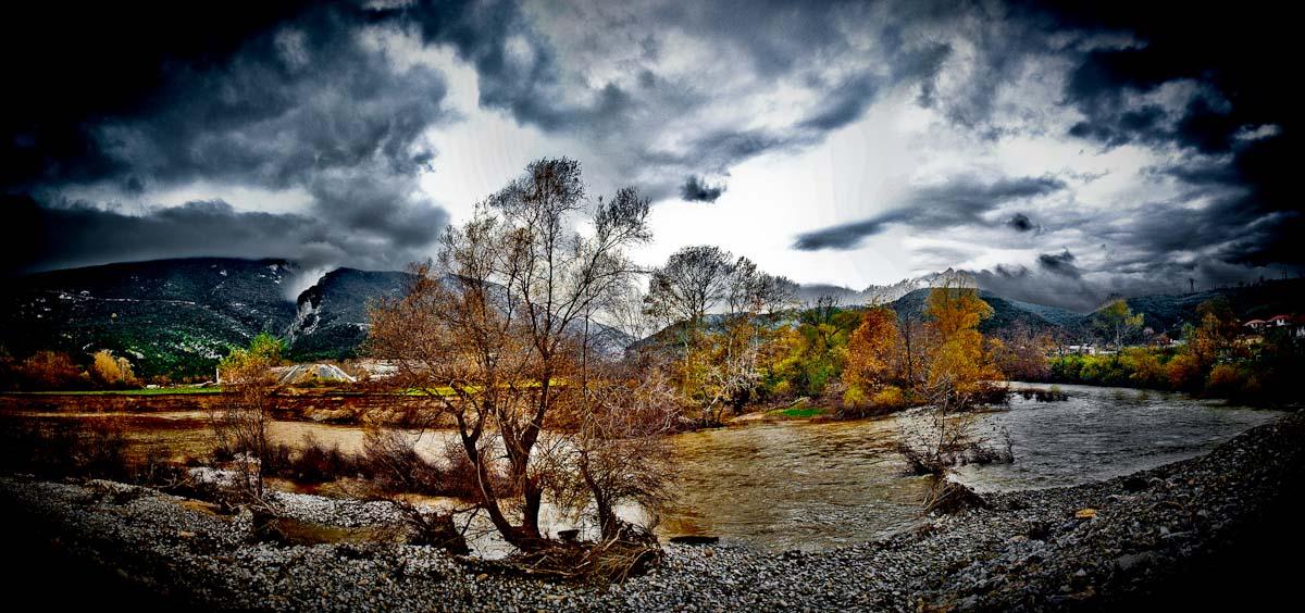 """фото """"Foothills of Olympus MountainEXP2"""" метки: панорама, пейзаж,"""