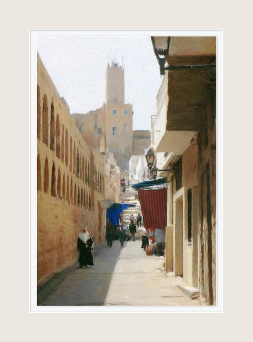 "photo ""Suss. Small streets of old Medina."" tags: montage, travel, Africa"