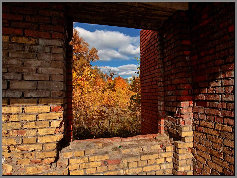 """фото """"Окно в осень..."""" метки: пейзаж, осень"""