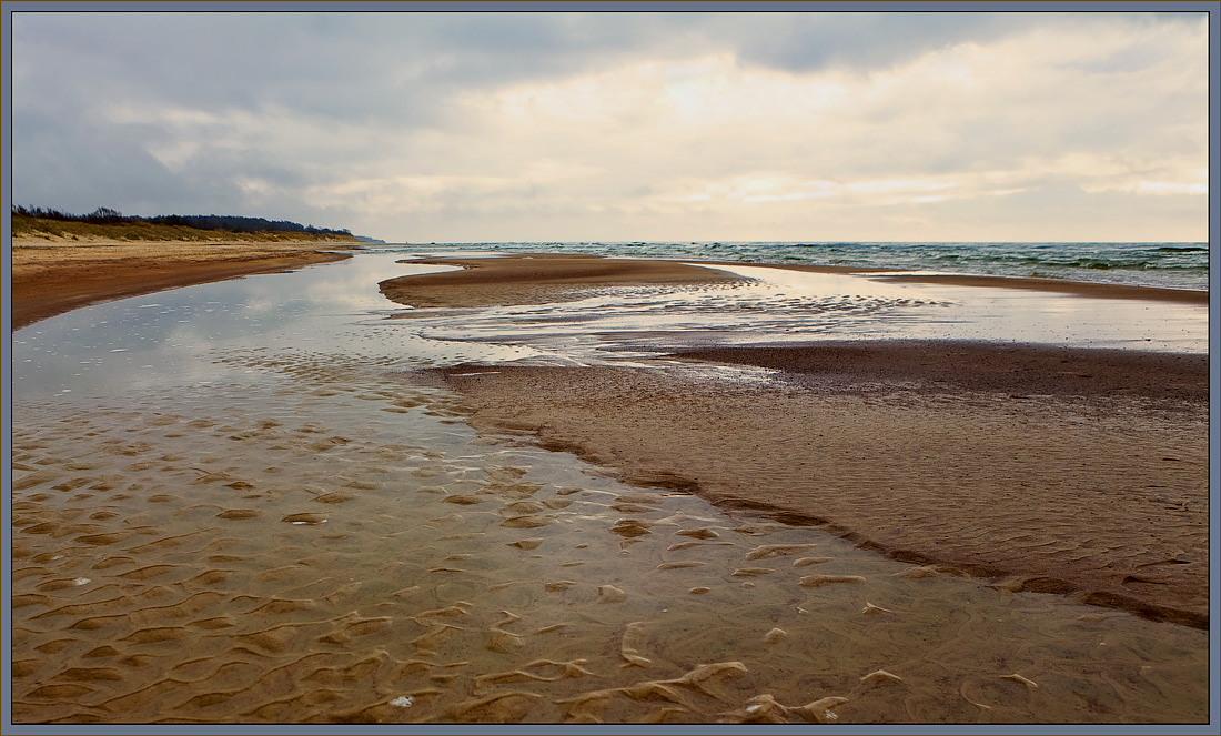 "photo ""Sea patterns"" tags: landscape, water"