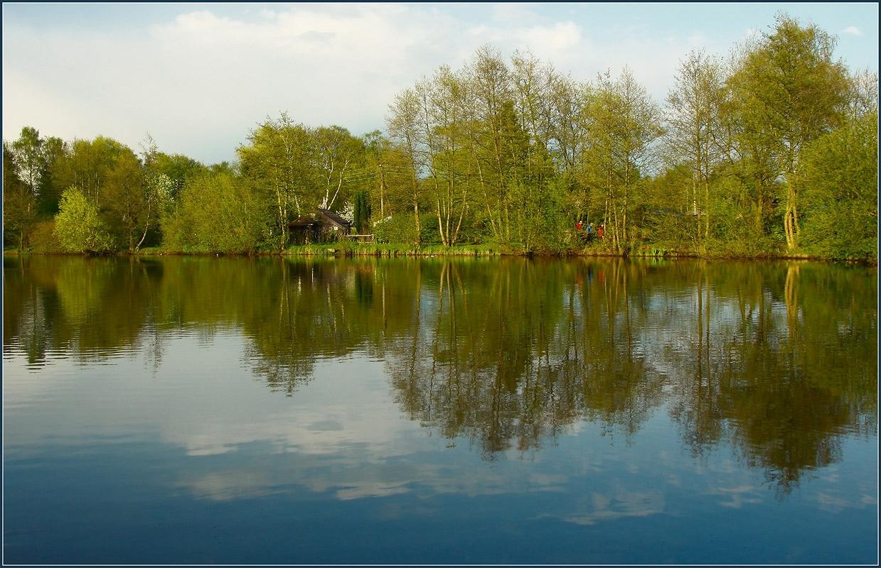 """фото """"Отражения"""" метки: пейзаж, весна, вода"""
