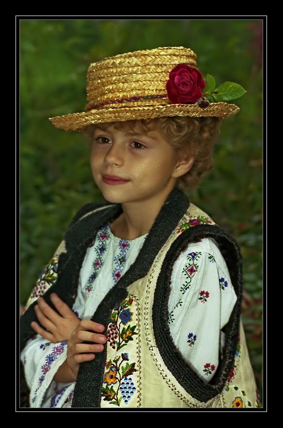"""фото """"Портрет девочки с розой на шляпке..."""" метки: портрет, дети"""