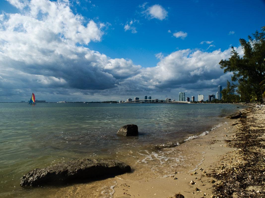 """фото """"Майами предновогодний"""" метки: пейзаж, вода"""