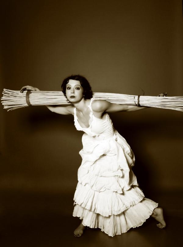 "photo ""Louisiane"" tags: portrait, black&white, woman"