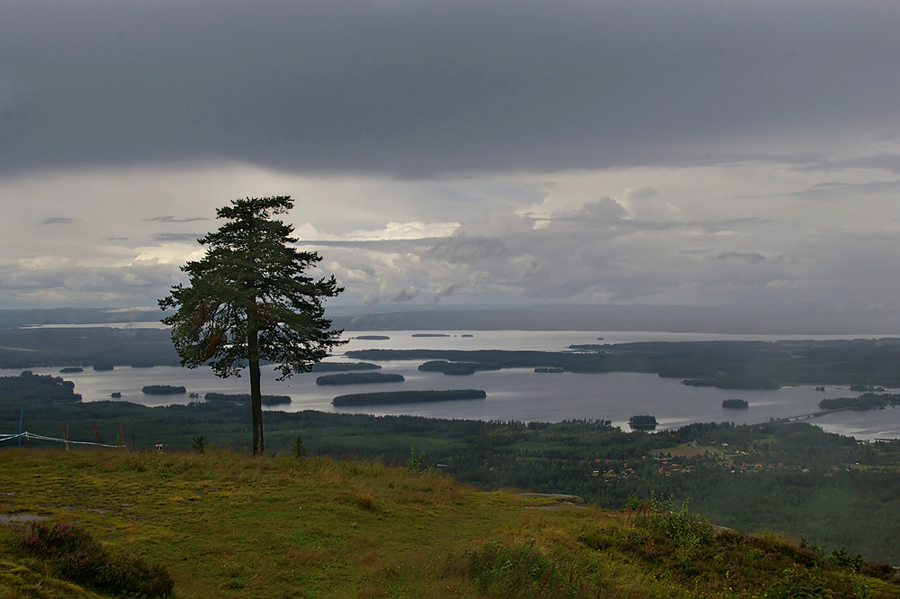 "фото ""Над озером Сильян"" метки: путешествия, пейзаж, Европа, вода"