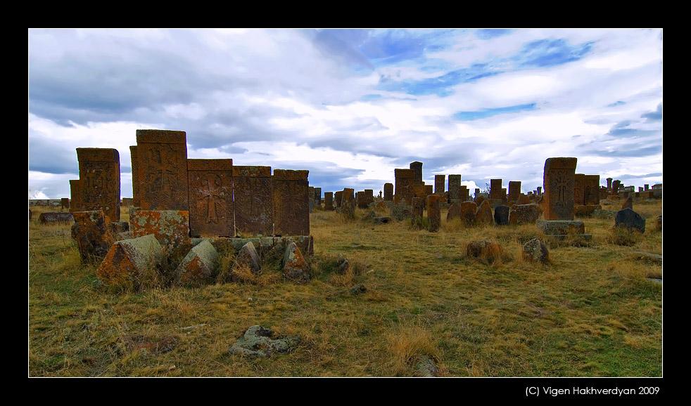"""фото """"Khachkars of Noratus"""" метки: путешествия,"""
