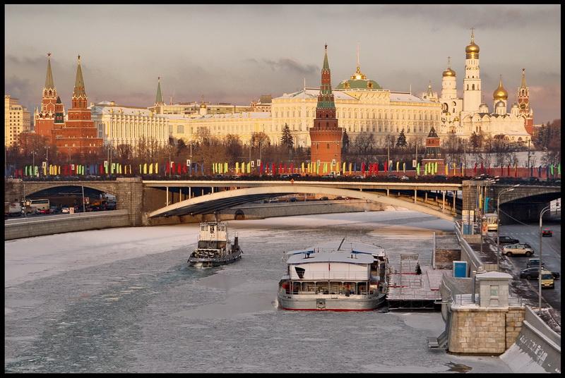 "фото ""Москва предновогодняя"" метки: архитектура, пейзаж,"