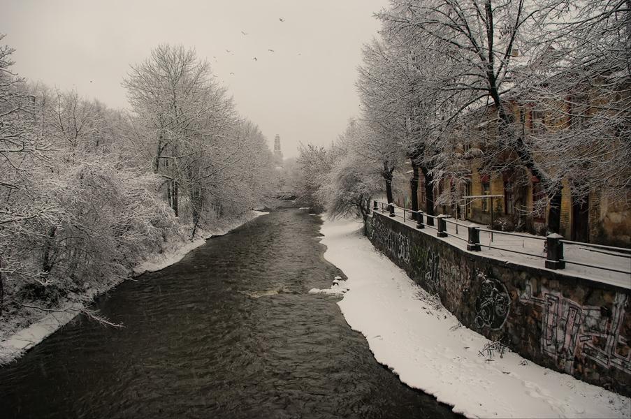 "фото ""Белый день"" метки: архитектура, пейзаж, зима"