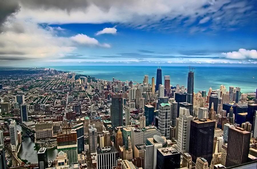 "photo """"Chicago"""" tags: architecture, travel, landscape, North America"