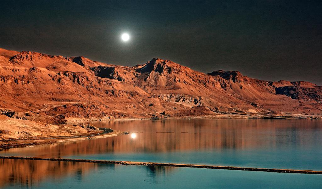 "фото ""Лунный пейзаж Мёртвого моря"" метки: пейзаж, горы"