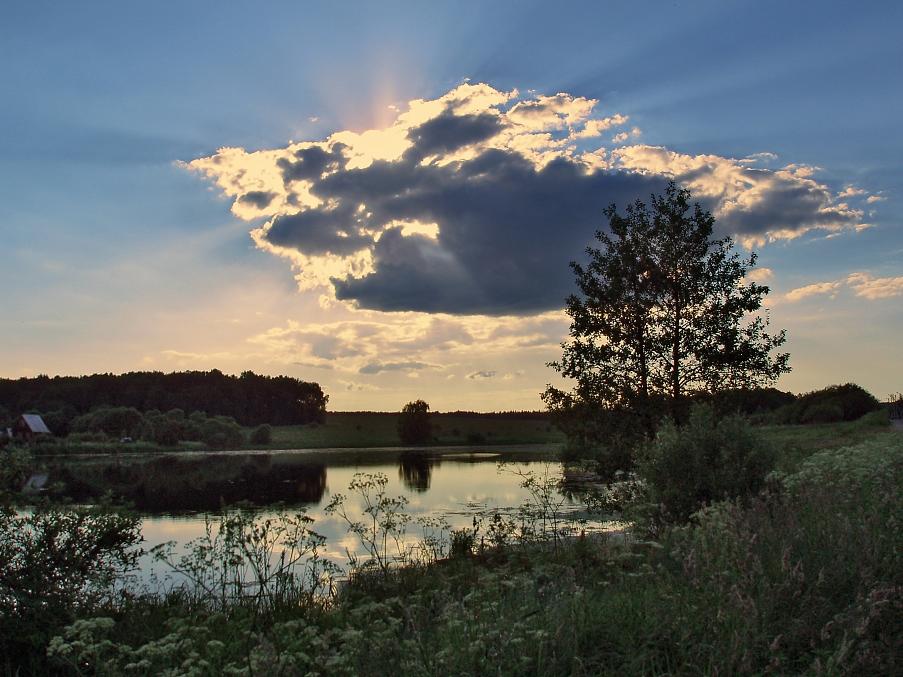 """фото """"С Новым Годом!"""" метки: пейзаж, лето, облака"""