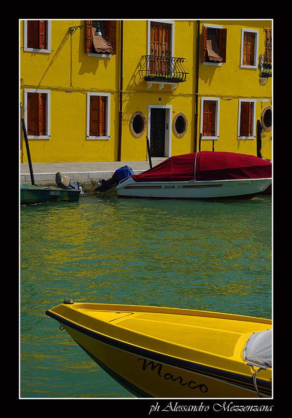 "фото ""yellow Venice"" метки: архитектура, путешествия, пейзаж,"