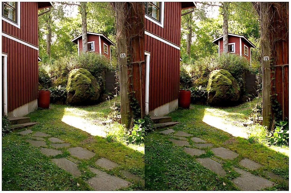 "photo ""Old Loviisa in 3D"" tags: landscape, travel, summer"