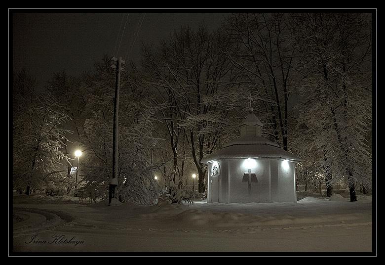 "photo ""***"" tags: landscape, architecture, winter"