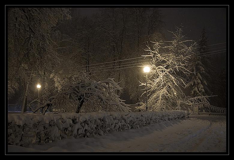 """фото """"Зимняя поэзия"""" метки: пейзаж, зима, ночь"""