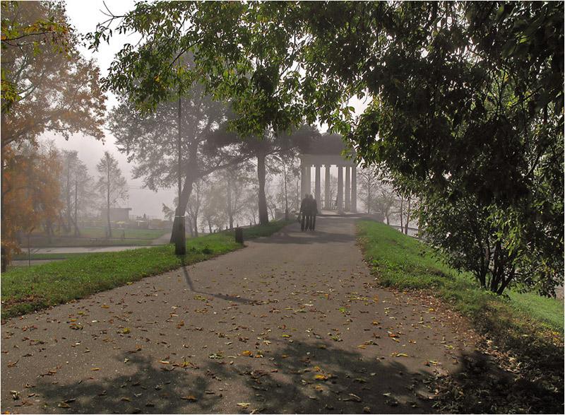 "фото ""Кострома в утреннем тумане."" метки: пейзаж, путешествия, осень"
