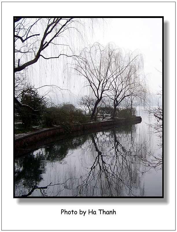 "фото ""West lake in the winter"" метки: пейзаж,"
