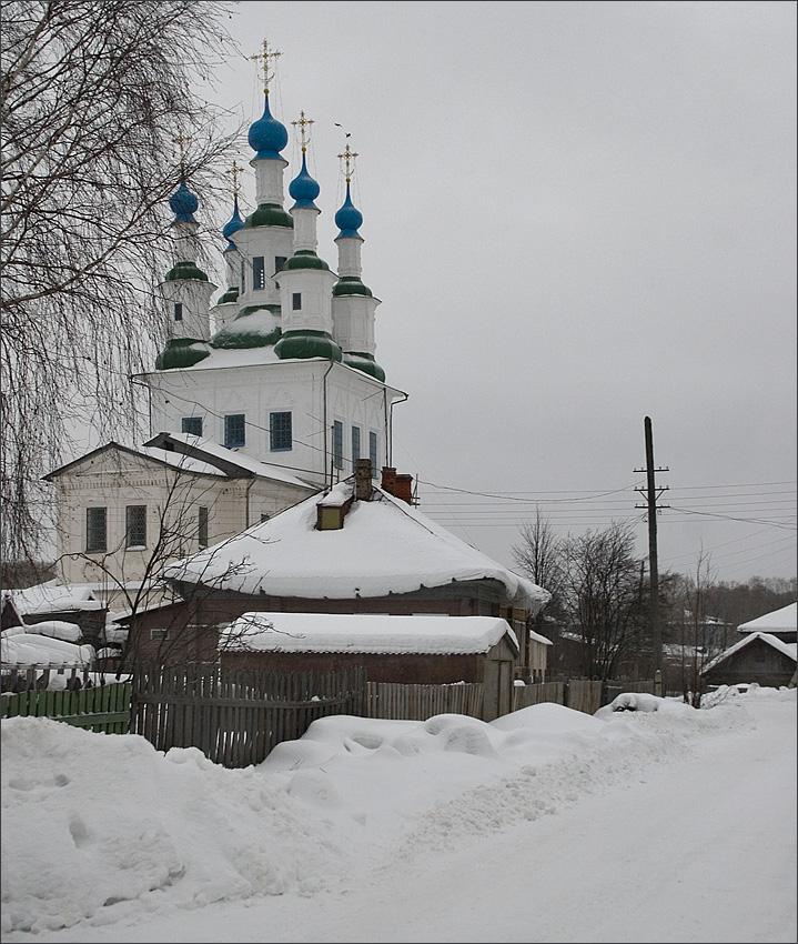 "photo ""Snowy Russia"" tags: architecture, landscape, winter"