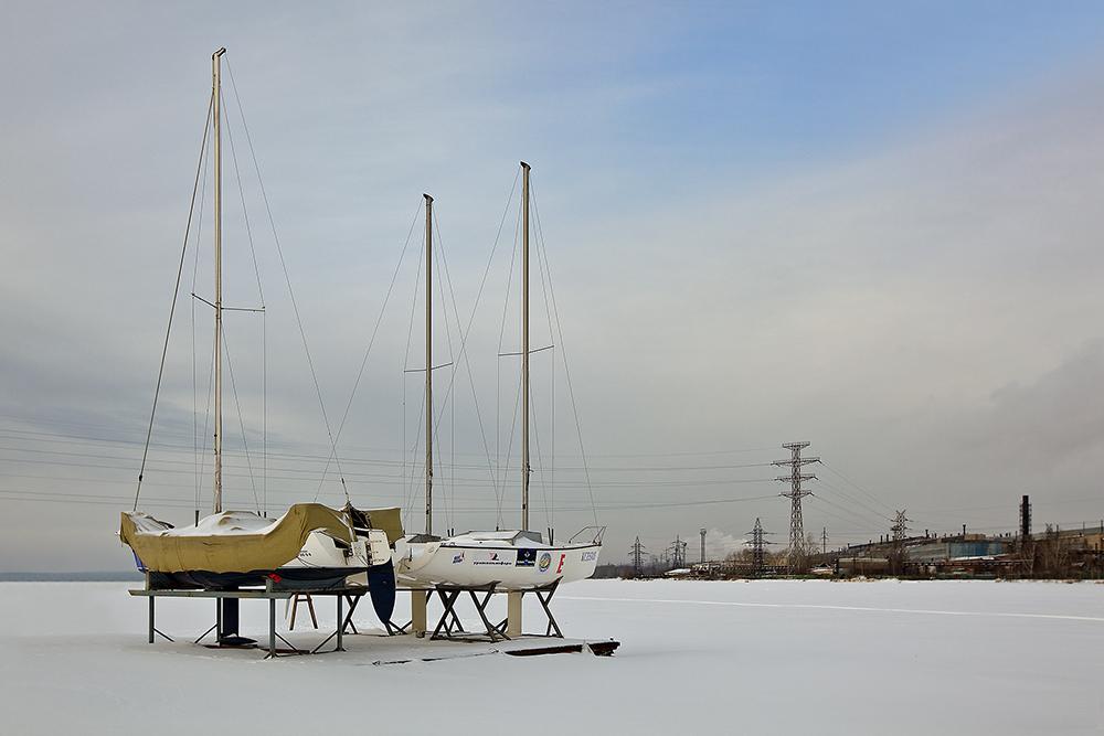"""фото """"Ассоль придётся подождать"""" метки: пейзаж, зима"""