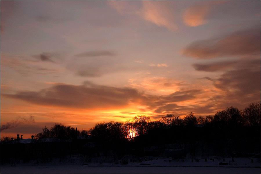 "photo ""***"" tags: landscape, clouds, sunset"
