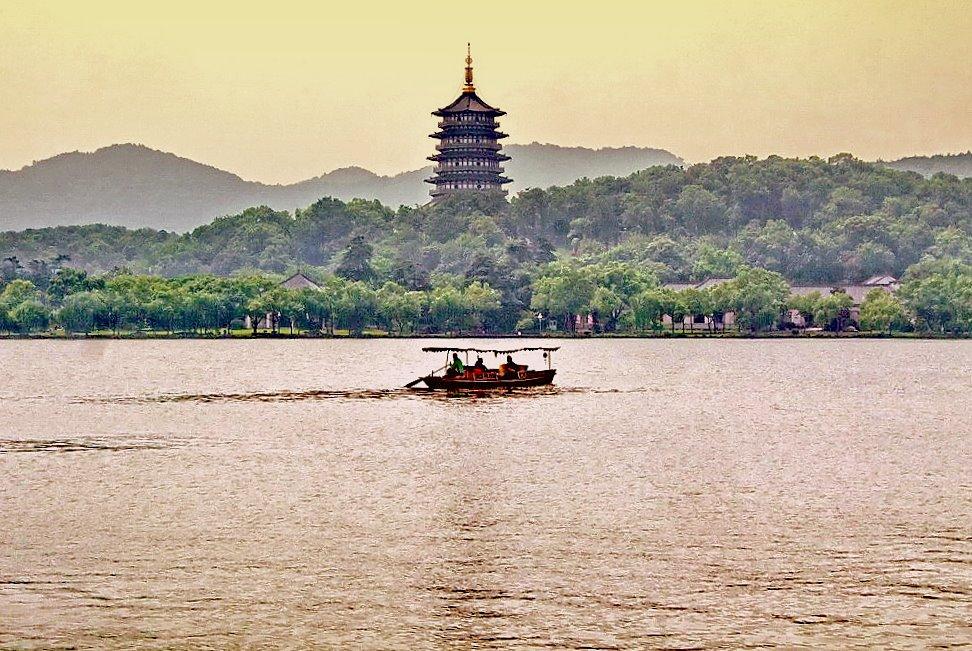 """фото """"озеро Тайху, Сучжоу."""" метки: пейзаж, путешествия, Азия, вода"""