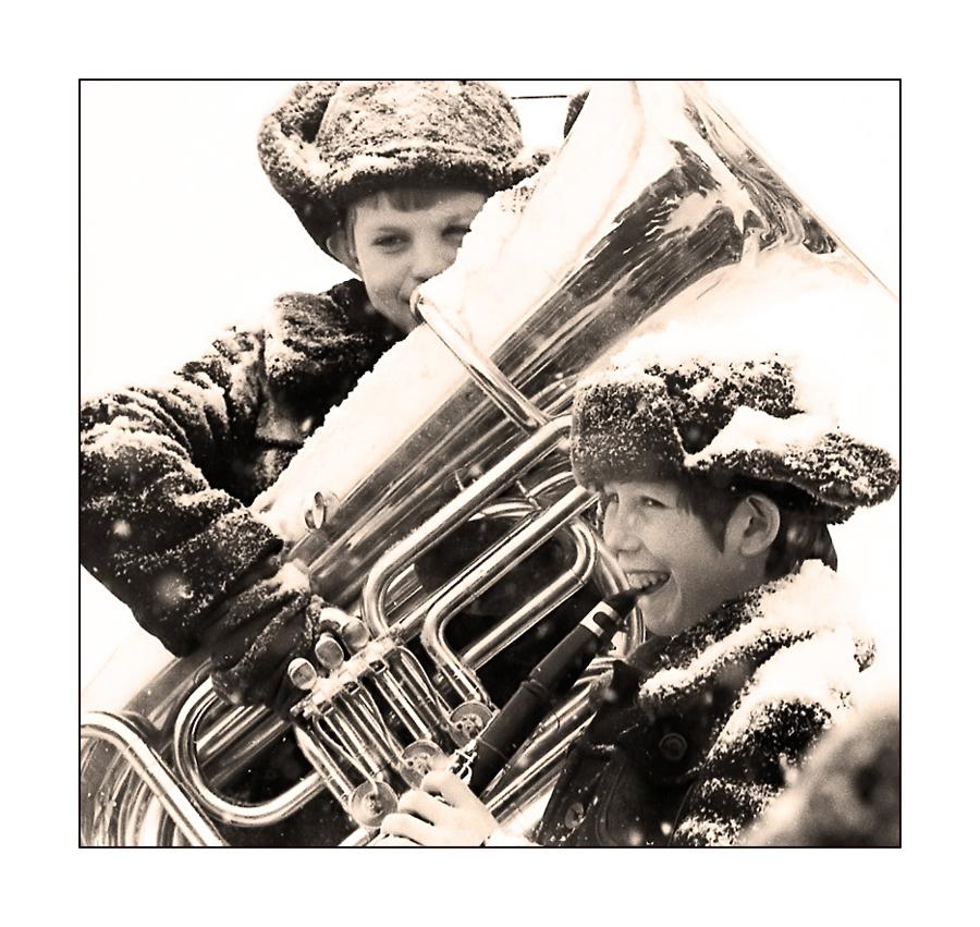 "фото ""Веселые музыканты"" метки: жанр, портрет, дети"