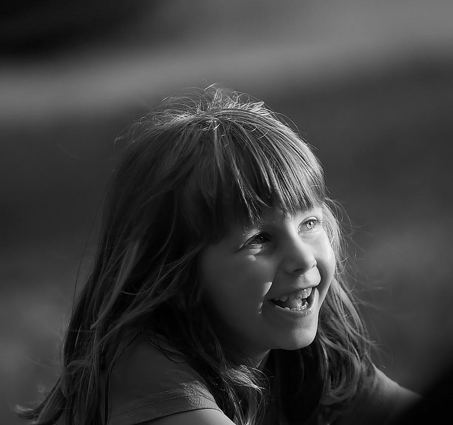 "photo """"The smile"""" tags: portrait, children"