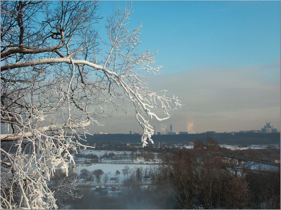 "фото ""Искусственным снегом заснежена"" метки: пейзаж, зима"
