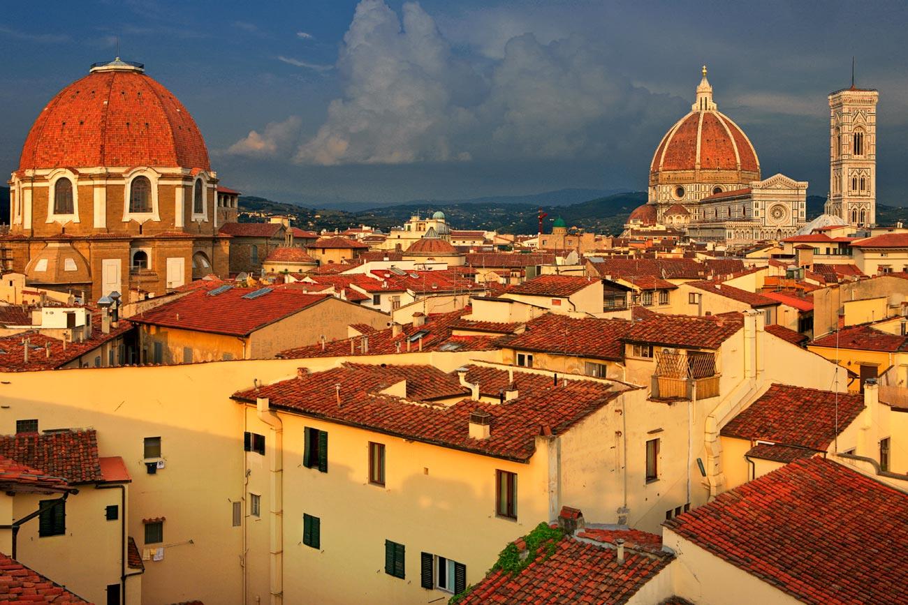 """фото """"Florentine roofs"""" метки: архитектура, путешествия, пейзаж, Европа"""