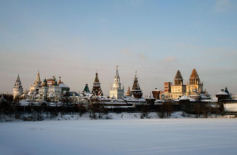 "photo ""Чудо Кремль"" tags: architecture, landscape, winter"
