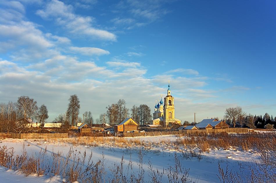 """фото """"Рождество"""" метки: пейзаж, зима"""