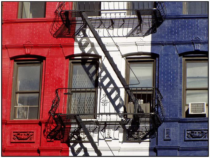 """photo """"Tricolor"""" tags: architecture, fragment, landscape,"""