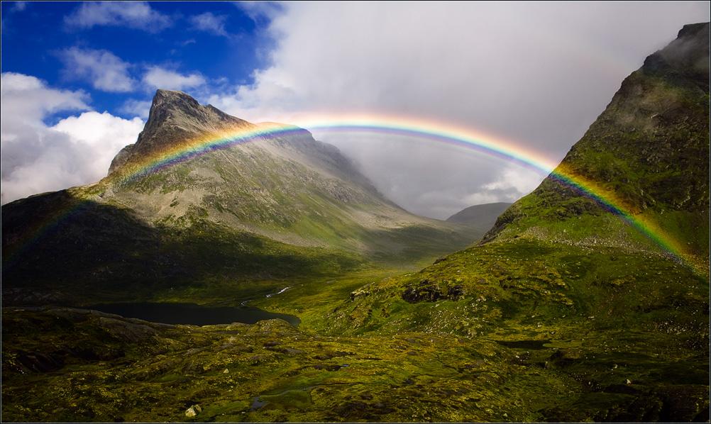 """фото """"Прикоснуться к радуге..."""" метки: пейзаж, горы"""