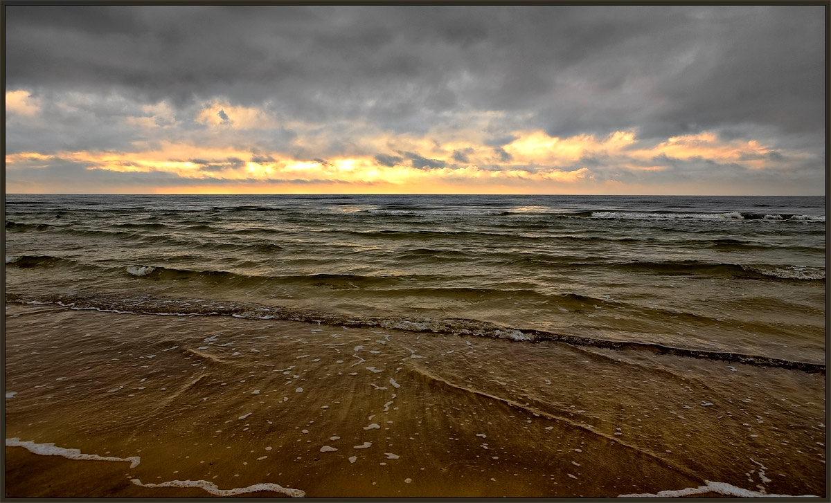 "фото ""Предзакатная"" метки: пейзаж, вода, закат"