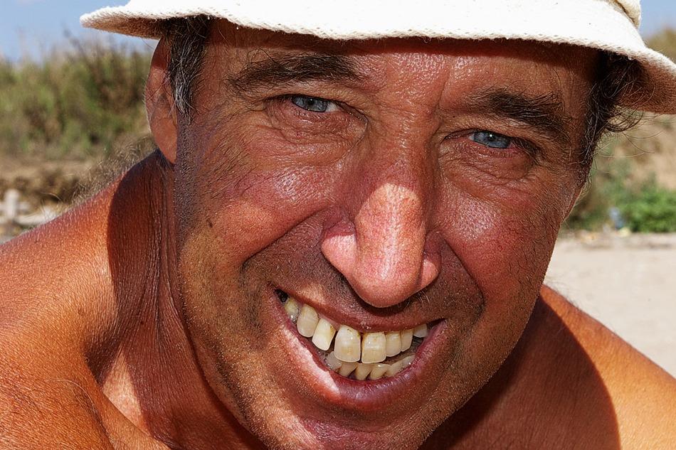 """фото """"Smile close-up..."""" метки: портрет, мужчина"""