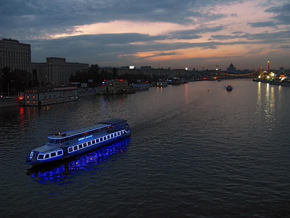 """фото """"Мираж-Москва"""" метки: пейзаж, город, ночь"""
