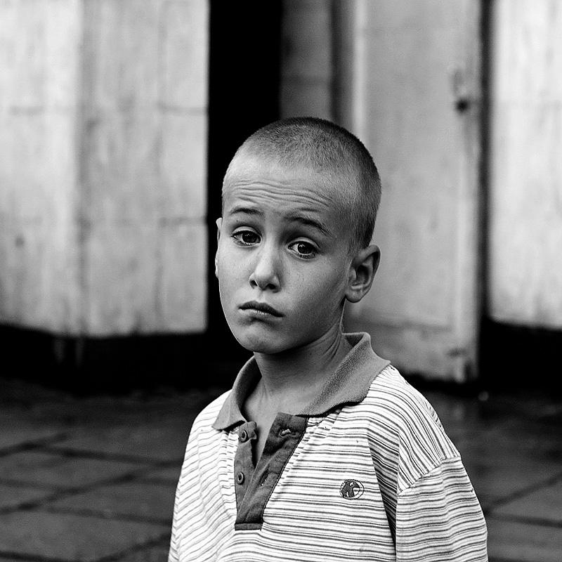 """photo """"***"""" tags: black&white, portrait, children"""