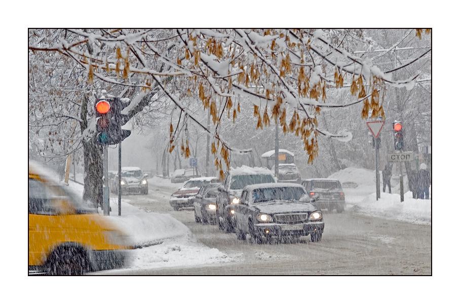 """фото """"Сиреневый бульвар2..."""" метки: пейзаж, жанр, зима"""