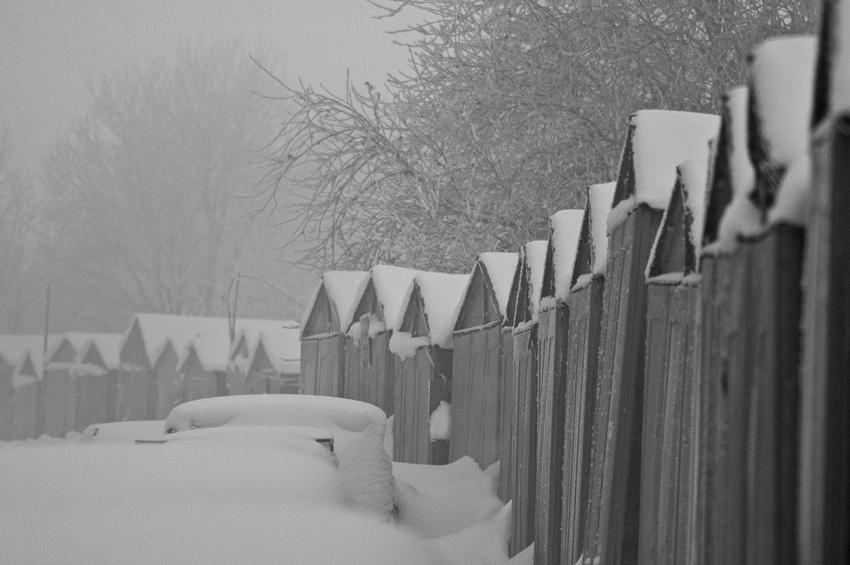 """фото """"готика"""" метки: город, пейзаж, зима"""
