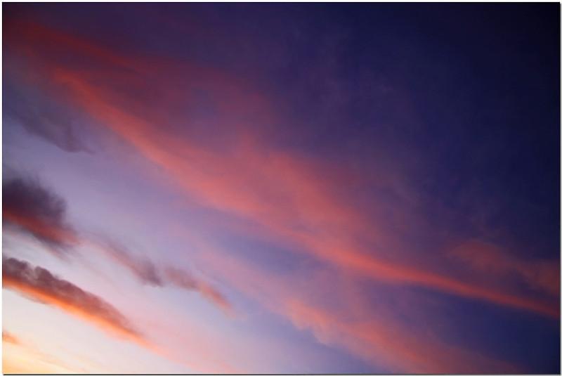 """фото """"Gradations"""" метки: пейзаж, закат, облака"""