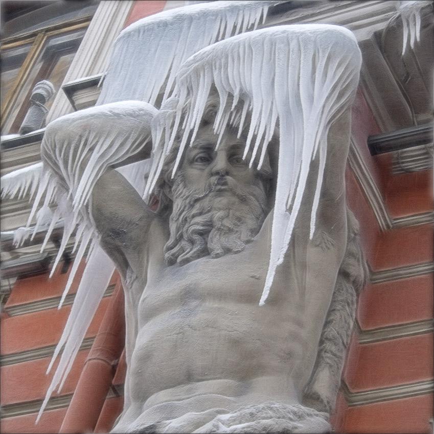 "photo ""winter coat"" tags: portrait, fragment, man"