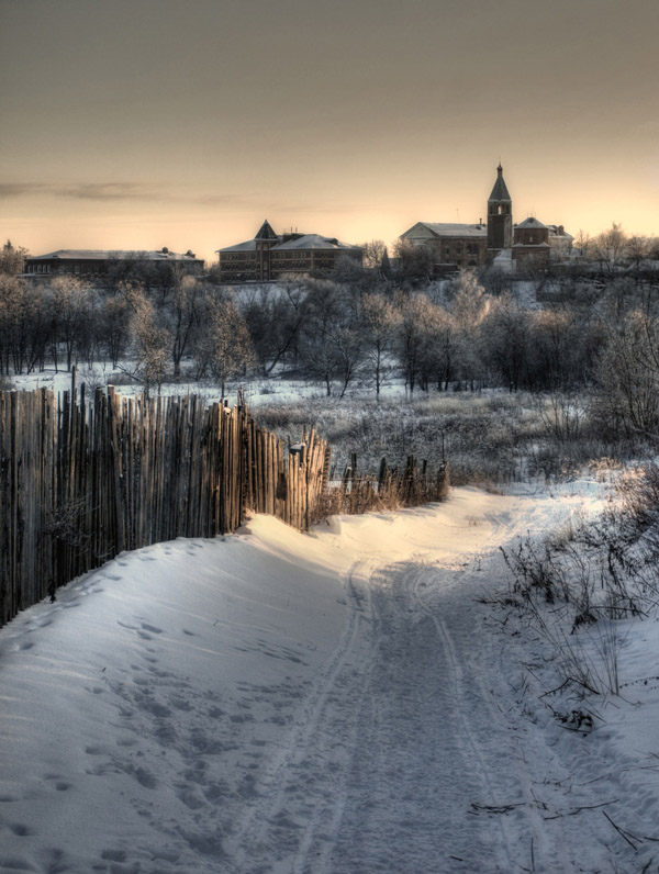 "photo ""***"" tags: architecture, landscape, winter"