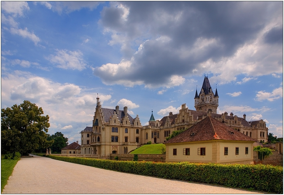 "фото ""Castle Grafenegg"" метки: архитектура, путешествия, пейзаж, Европа"